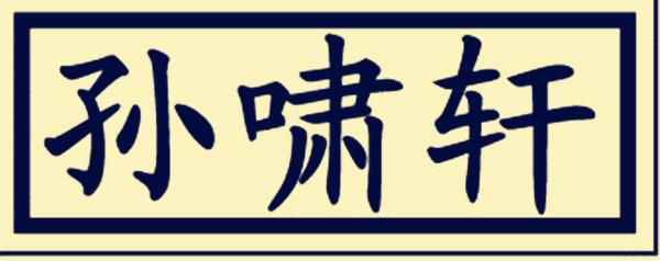 光敏印会记财务姓名印章样式2